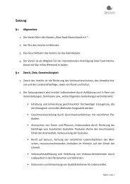 Satzung - Slow Food Deutschland eV