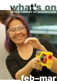 What's On - Feb-Mar 2012 - State Library of Queensland