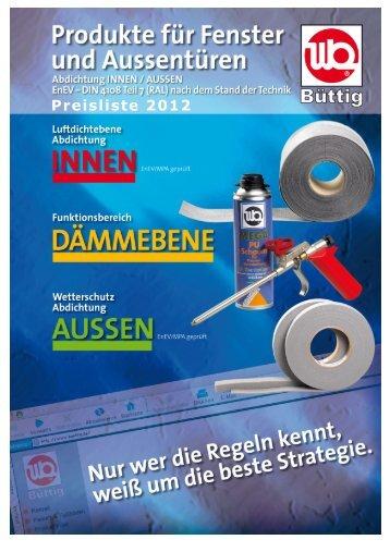 Gesamtkatalog 2012 - Büttig GmbH