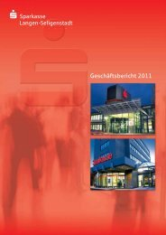 Geschäftsbericht 2011 - Sparkasse Langen-Seligenstadt