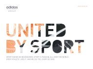 United By Sport - adidas Group