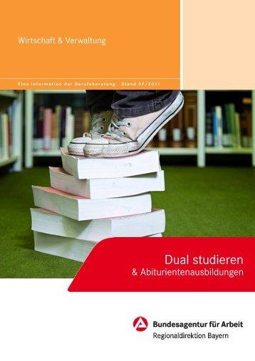 Dual studieren - Bundesagentur für Arbeit