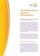 Mit Solidarökonomie gegen die Wirtschaftskrise - Seite 2
