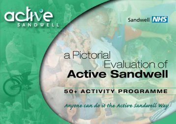 A Pictorial Evaluation of Action Sandwell PCTs - Agewell