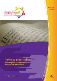 Texte zu Bibelstellen
