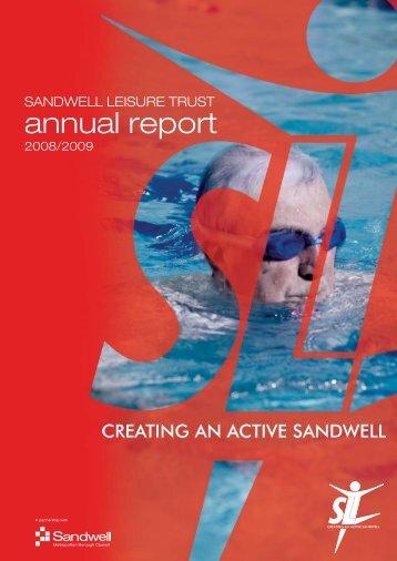 SLT annual Rep_09WEB:SLT annual Rep_09 - Sandwell Leisure ...
