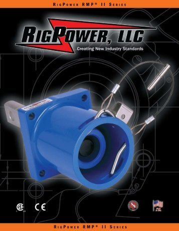 RigPower's RMP® II - Cam Lock Power Cables