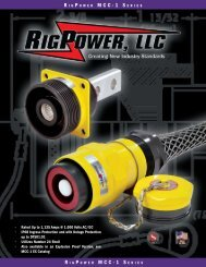 • Rated Up to 1,135 Amps @ 1,000 Volts AC/DC • IP68 ... - sltco.co.kr