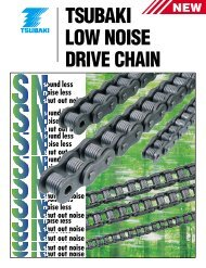 Low Noise Drive Chain Catalog - Tsubaki