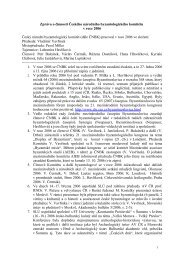 Výroční zpráva za rok 2006 - Slovanský ústav AV ČR