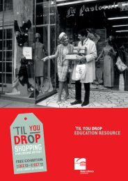 'til you drop, Educational resource - State Library of Victoria