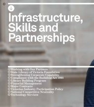 Infrastructure, skills and partnerships - State Library of Victoria