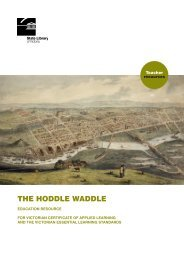 Hoddle Waddle Teacher Resources - State Library of Victoria