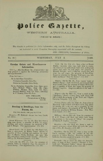 July 1890 - State Library of Western Australia