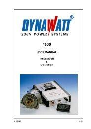 Manual Dynawatt 4000 - LEAB