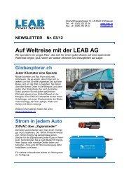 Newsletter 03/12 - LEAB