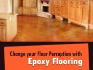 Epoxy Flooring for Commercial and Residential Floors