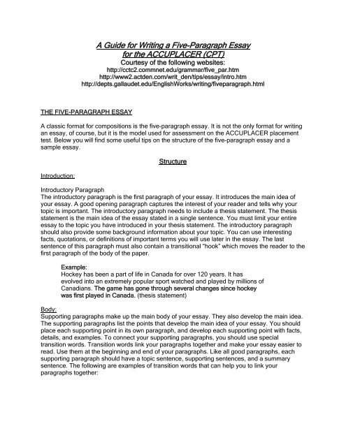 Compare And Contrast Essay About High School And College  Healthy Living Essay also Thesis Statement Generator For Compare And Contrast Essay A Guide For Writing A Fiveparagraph Essay For The  Term Papers And Essays