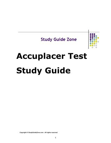 Nclex rn test study guidepdf study guide zone accuplacer test study guide study guide zone fandeluxe Choice Image