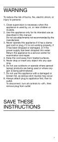 cruZer3 - Braun Consumer Service spare parts use instructions ... - Page 6