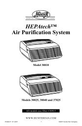 HEPAtech™ Air Purification System - SmallAppliance.com