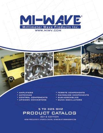 Millimeter Wave Catalog