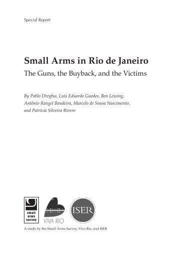 Small Arms in Rio de Janeiro - Small Arms Survey