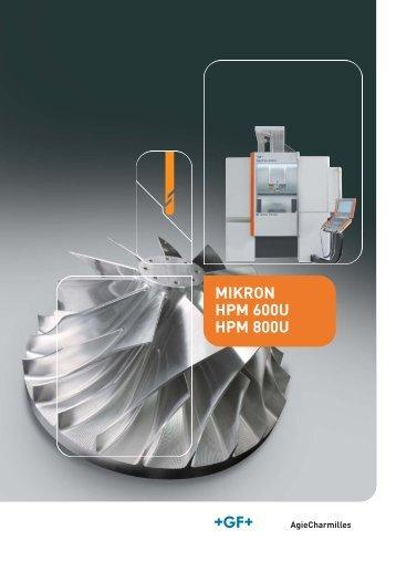 MIKRON HPM 600U HPM 800U