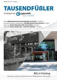 2012 Oktober / Lebenshilfe Freising / Tausendfüßler-Magazin