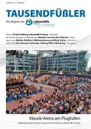 2012 Juli / Lebenshilfe Freising / Tausendfüßler-Magazin