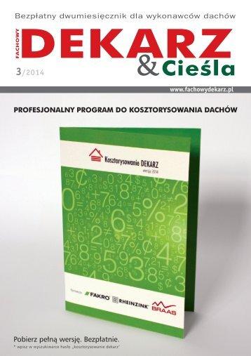 Fachowy Dekarz & Cieśla 3/2014