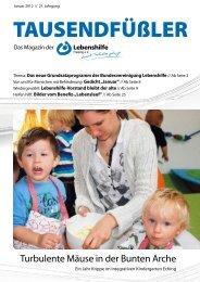 2012 Januar / Lebenshilfe Freising / Tausendfüßler-Magazin