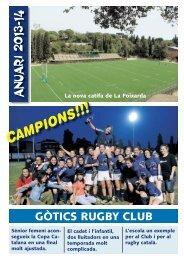 Anuari Gòtics RC 2013 - 2014