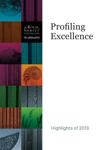Profiling Excellence 2013