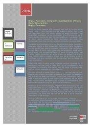 Digital Forensics: Computer Investigations of Social Media Information