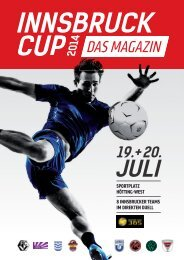 planetwin365 Innsbruck Cup 2014 Magazin