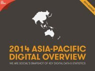 2014 ASIA-PACIFIC DIGITAL OVERVIEW