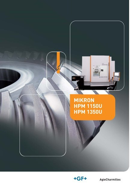 MIKRON HPM 1150U HPM 1350U DE