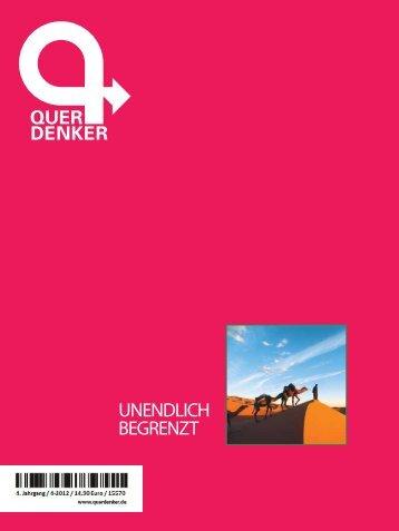 Querdenker-Magazin: Unendlich begrenzt