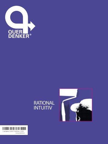 Querdenker-Magazin: Rational intuitiv