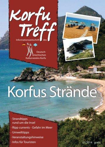 Korfus Strände