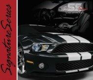 Signature Series Car Wash Brochure