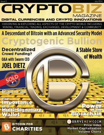 Crypto Biz Magazine—July, 2014/Issue.02