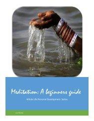 Meditation: A beginners guide