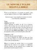 LE NOM DE L'EGLISE SELON LA BIBLE - Page 2