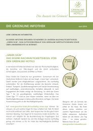 GreenLine Infothek Juli 2014
