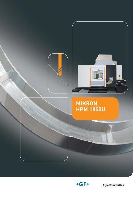 MIKRON HPM 1850U DE