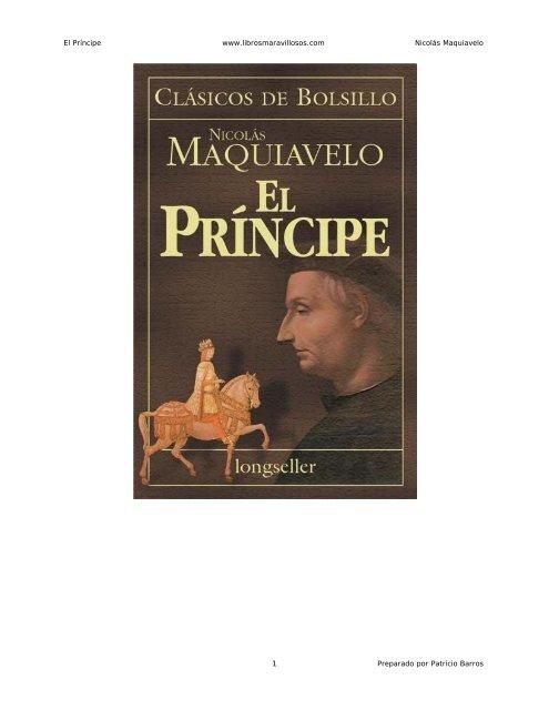 El Principe Maquiavelo Pdf