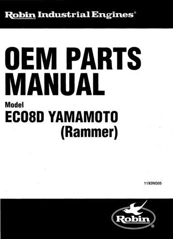 OEM PARTS MANUAL - Jacks Small Engines