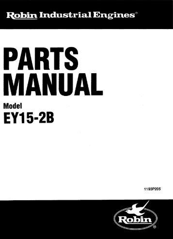 EY15-2B - Jacks Small Engines